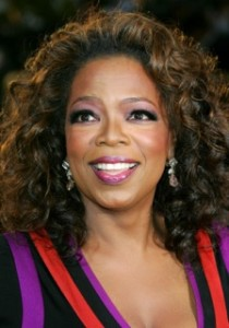Oprah Winfrey, values-driven advocate