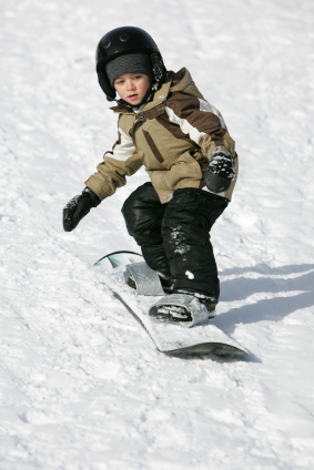 how to choose a snowboard for a child