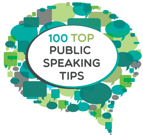 100 Top Public Speaking Tips from Speak Up for Success