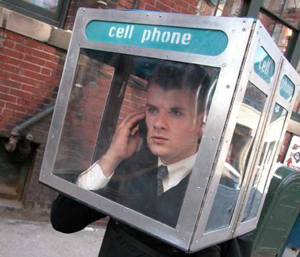 cell phone booth (Kristi Lamarca)