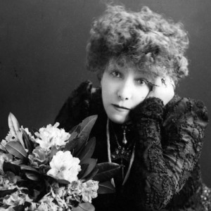 silent movie star Sarah Bernhardt