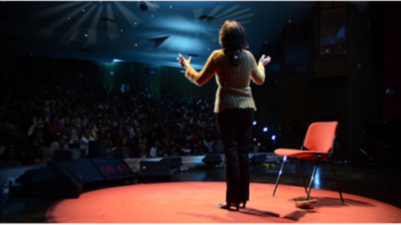 Giving a TED-Style Talk? Here's How They're Different from Business